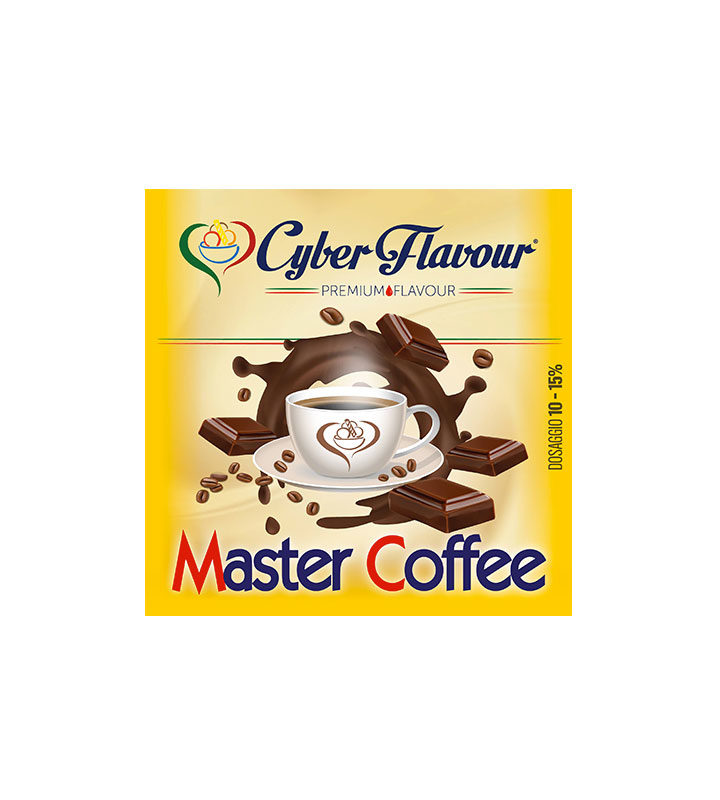 AROMA MASTER COFFE 10ML by Cyber Flavour - Vape Area