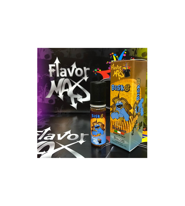 AROMA FLAVOR MAX BISK8 15ml by Iron Vaper - Vape Area