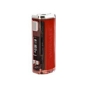 BOX MOD SINUOUS V80 80W TC by Wismec - Vape Area