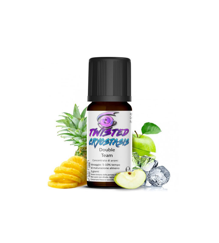 AROMA DOUBLE TEAM by 10ML Twisted Vaping - Vape Area