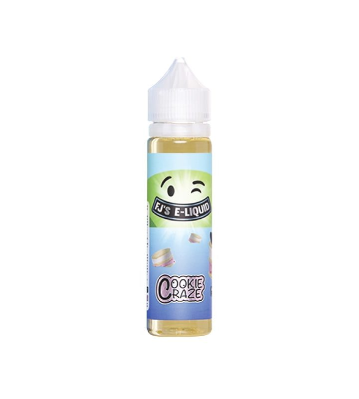 COOKIE CRAZE by FJ's e-liquid 50ml - Vape Area