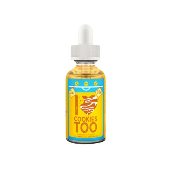 I LOVE COOKIES TOO by Mad Hatter Juice 50ml - Vape Area