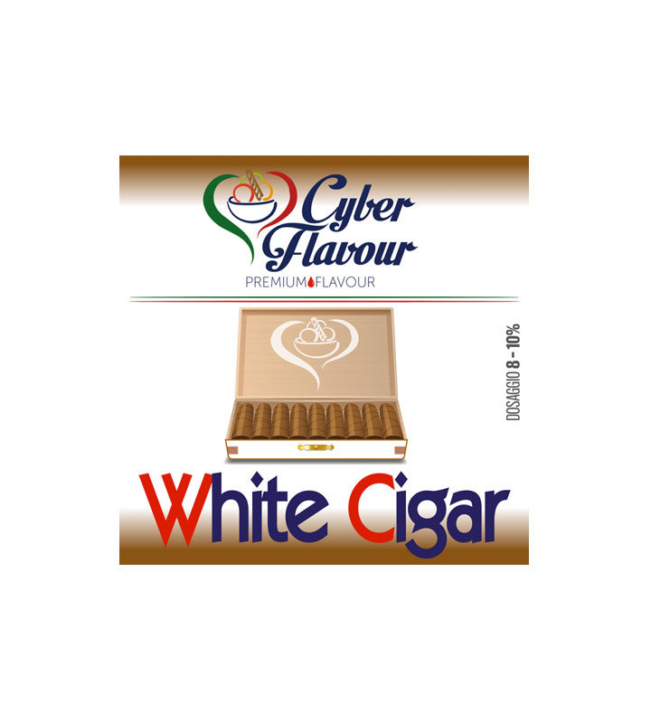 AROMA WHITE CIGAR by Cyber Flavour - Vape Area