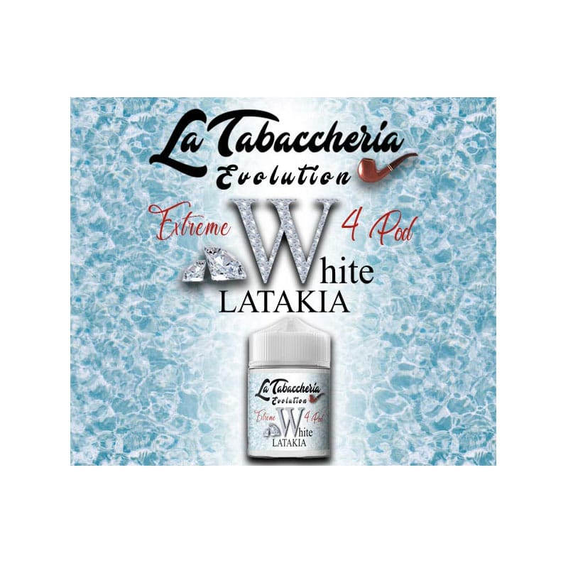 AROMA EXTREME 4POD WHITE LATAKIA 20ml By La Tabaccheria - Vape Area